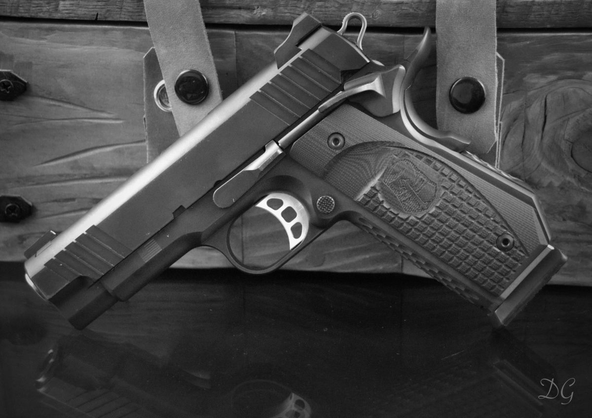 springfield custom shop 1911 with specialized grip